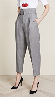 Edition10 高腰绑带长裤