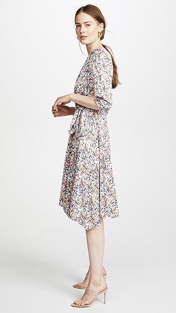 Edition10 Printed Wrap Dress
