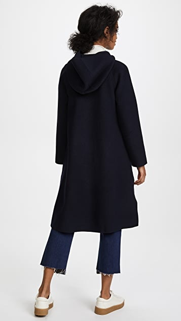 Edition10 Hooded Pea Coat