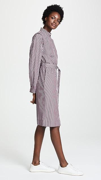 Edition10 束腰衬衣式连衣裙