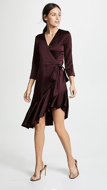 Edition10 Asymmetrical Ruffle Dress