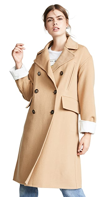 Edition10 Double Breasted Overcoat