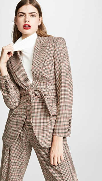 Edition10 Plaid Blazer