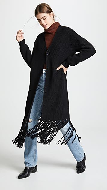 Edition10 Fringe Cardigan
