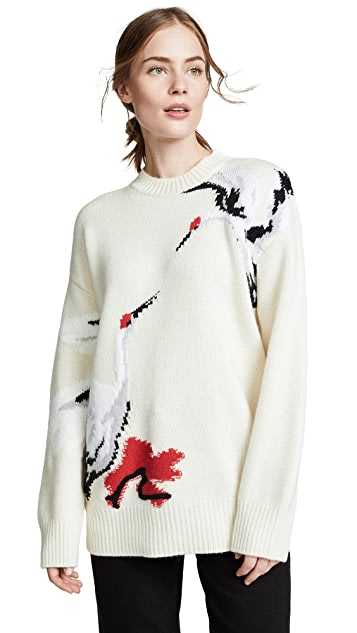 Edition10 Swan Sweater