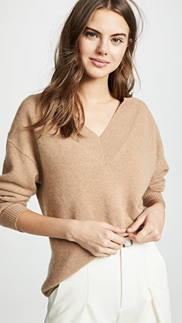 Edition10 V Neck Cashmere Sweater
