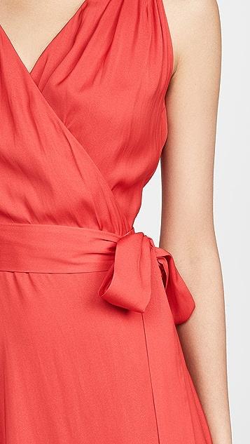 Edition10 Платье с запахом и V-образным вырезом