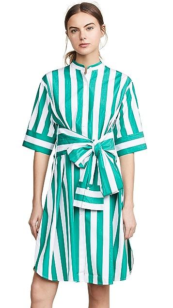 Edition10 Платье в полоску