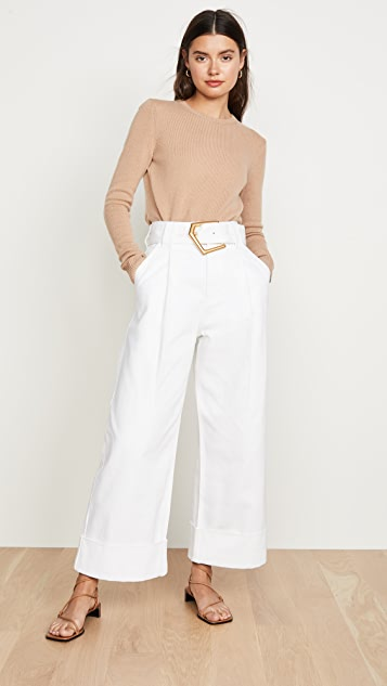 Edition10 Belted Wide Trousers