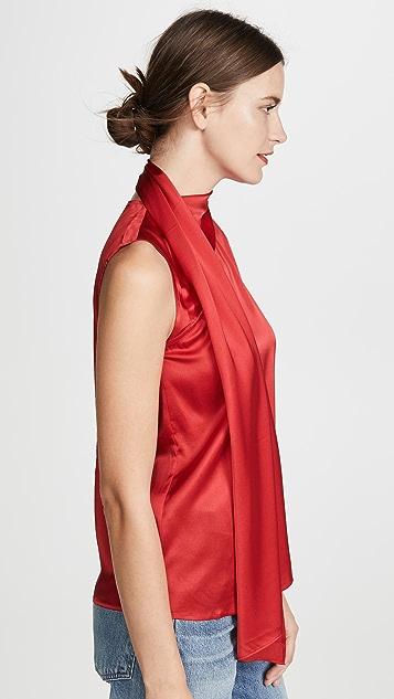 Edition10 垂褶领口女式衬衫