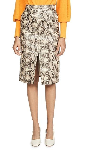 Edition10 蛇纹半身裙