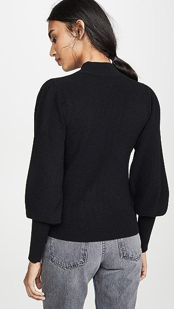 Edition10 Balloon Sleeve Sweater