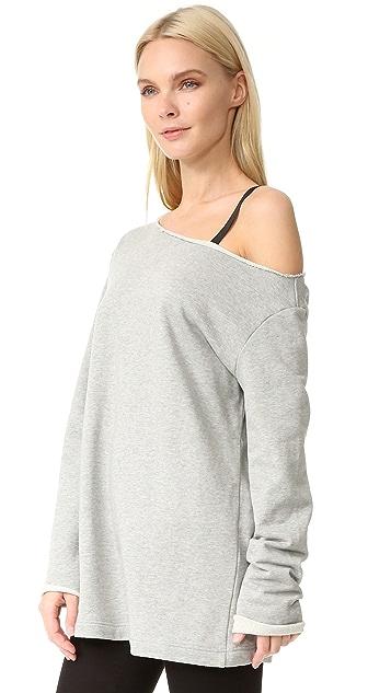 EDIT One Off Shoulder Sweatshirt