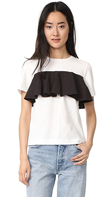 EDIT Cotton Frill T Shirt
