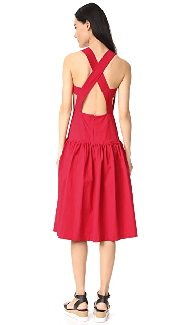EDIT Open Back Sun Dress
