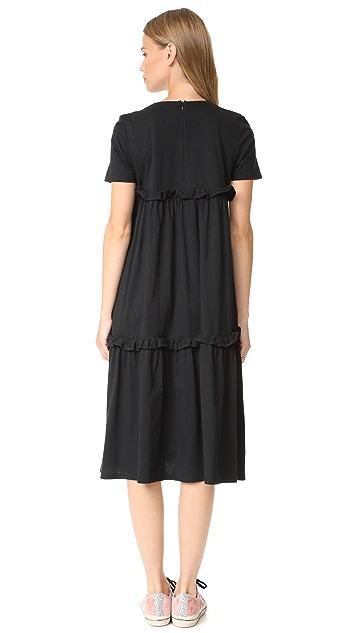 EDIT Multi Tier Midi Dress
