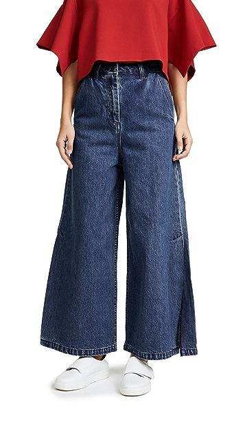 EDIT Split Leg Jeans