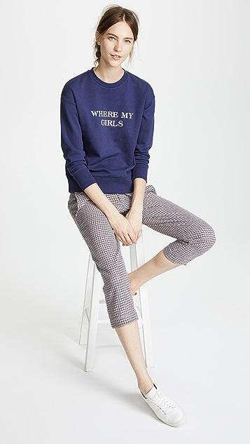 EDIT Slogan Sweatshirt