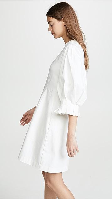 EDIT Платье с рукавами в стиле оригами