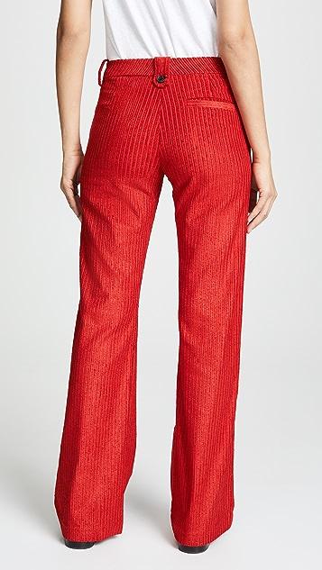 ei8htdreams Вельветовые широкие расклешенные брюки