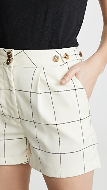ei8htdreams Sydney Checked Trouser Shorts