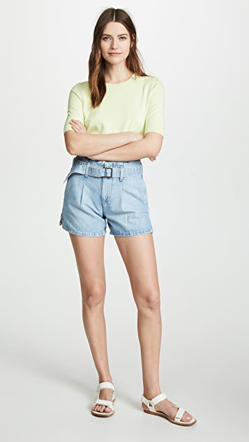 ei8htdreams Belted Denim Shorts