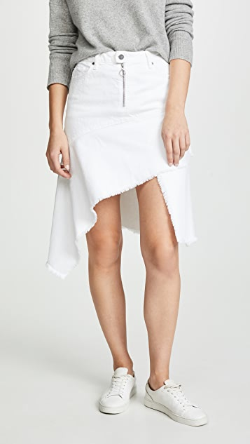 Ei8htdreams Asymmetric Denim Skirt