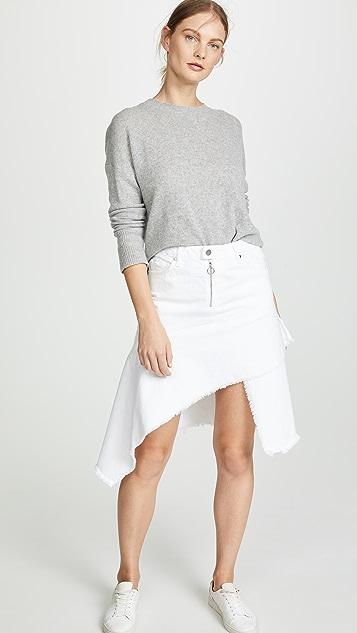 ei8htdreams Asymmetric Denim Skirt