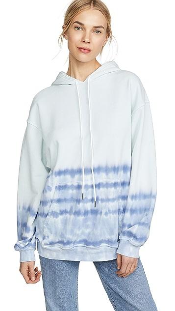 ei8htdreams Tie Dye Oversized Hoodie