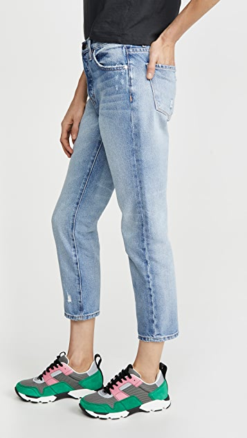 ei8htdreams Rigid High Waist Crop Skinny Jeans