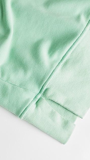 ei8htdreams 法式毛圈裥褶运动衫