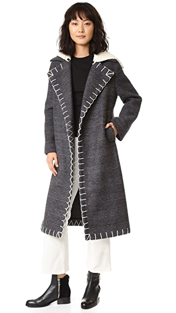 EDUN Long Double Breasted Coat