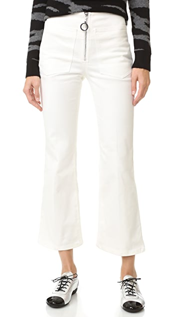 EDUN Denim Flares