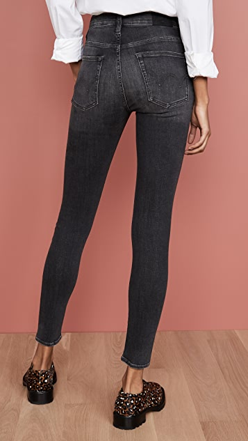 Edwin Pixie High Rise Skinny Jeans