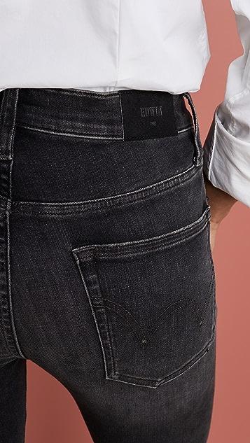Edwin Pixie 高腰紧身牛仔裤