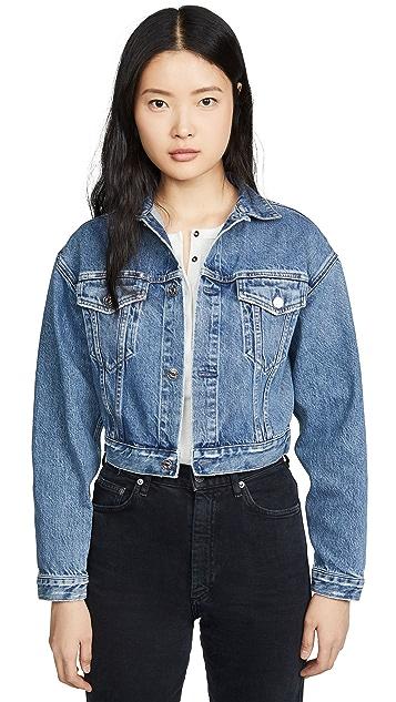Edwin Sia Cropped Denim Jacket