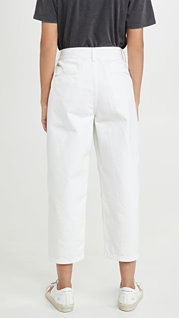 Edwin Maiia Wide Leg Crop Jeans