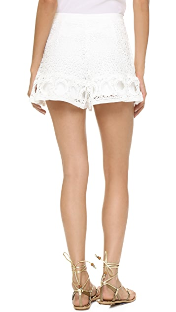 ENGLISH FACTORY Lace Shorts