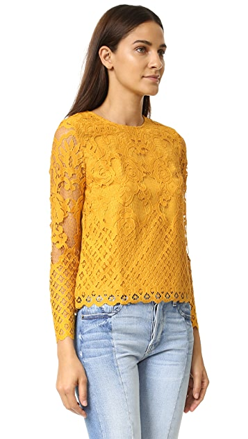 ENGLISH FACTORY Lace Blouse