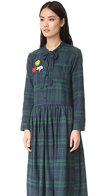 ENGLISH FACTORY Plaid Dress