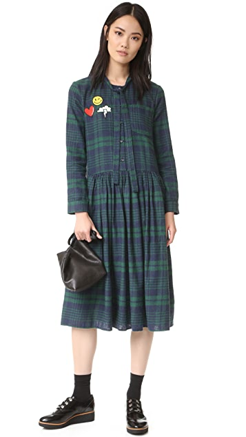 ENGLISH FACTORY Plaid Dress