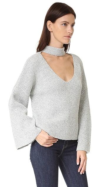 ENGLISH FACTORY V Neck Sweater