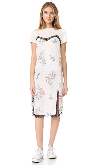 ENGLISH FACTORY Peony Blossom Print Cami Dress