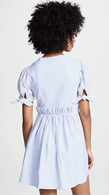 ENGLISH FACTORY Ruffle Detail Dress