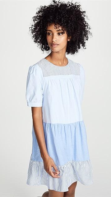 ENGLISH FACTORY Shirred Dress