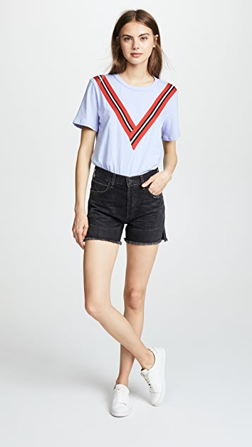 ENGLISH FACTORY Varsity Stripe Tee