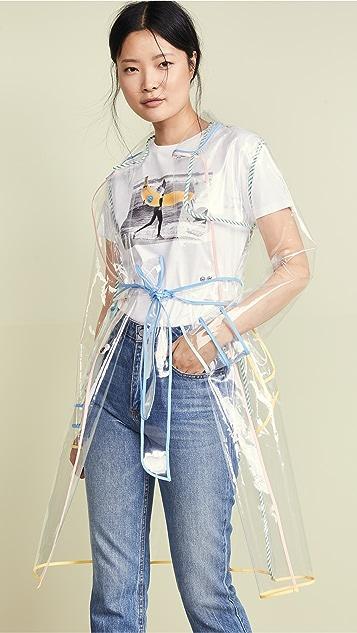 ENGLISH FACTORY Дождевик с завязками