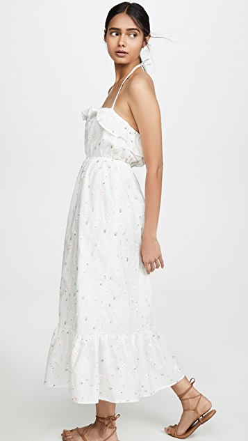 ENGLISH FACTORY Floral Maxi Dress