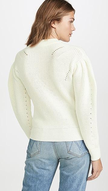 ENGLISH FACTORY 泡泡袖毛衣