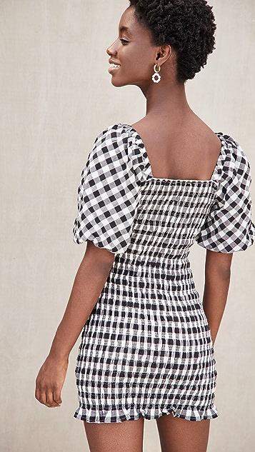 ENGLISH FACTORY Mini GIngham Dress